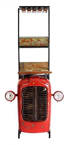 Traktor - Barschrank Wohnzimmerschrank Weinregal THIS & THAT 16932 Rot-bunt