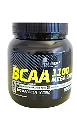 Olimp BCAA Mega Caps 1100 300caps from Olimp