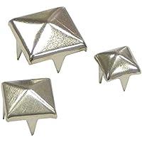 Silber Gazechimp 10pcs Spitzenieten Killernieten Ziernieten Nieten Spikes Spitz Gothic Punk Metall 7x20 mm