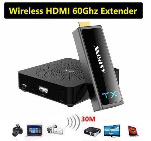 MEASY W2H Mini2 1080P HDMI Extender Ripetitore 30m / 100ft range Ricevitore wireless trasmettitore HD HD wireless Estendere