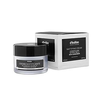 D'Bullón Profesional Crema Matificante para Pieles Grasas, Piel Hidratada y Sin Brillos con Protección Solar – 50 ml