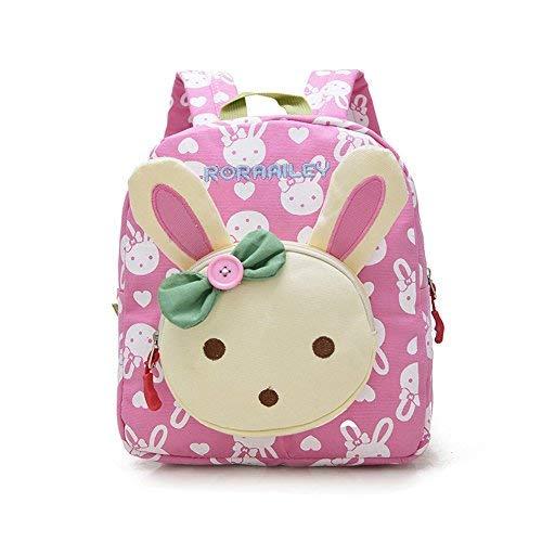 DafenQ Nursery Zaino Animale Sveglia per i Bambini Zaino Borsa Carina Scuola Materna/Scuola Materna del Bambino (Rosa)