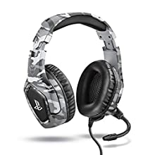 Trust Gaming GXT 488 Forze-G [ Officially Licensed for PS4 ] Gaming Headset for Playstation 4 with Flexible Microphone and Inline Remote Control - Grey