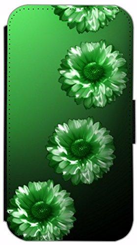 Kuna Flip Cover für Apple iPhone 5 / 5s Design K268 Panda Hülle aus Kunst-Leder Handy Tasche Etui mit Kreditkartenfächern Schutzhülle Case Wallet Buchflip Rückseite Schwarz Vorderseite Bedruckt mit Bi K253