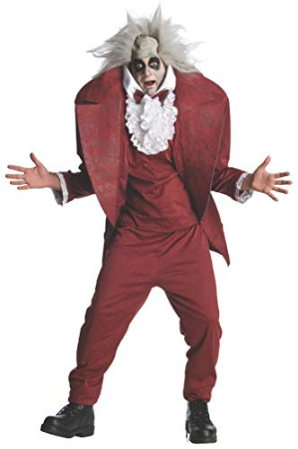 Rubie's Adult Shrunken Head Beetlejuice Fancy Dress Costume Standard (Beetlejuice Kostüm Adult)