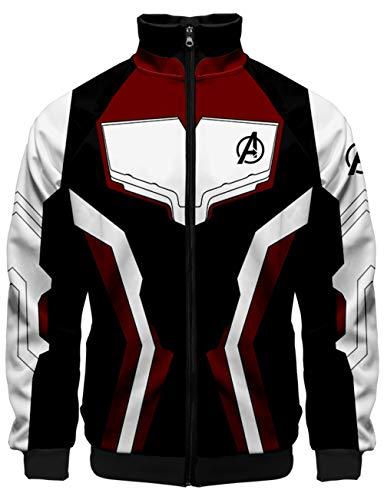 KamiraCoco Hombres Chaquetas Cosplay Vengadores Avengers