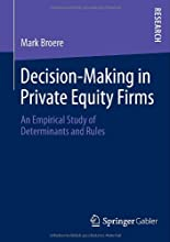 Decision-making in private equity firms hier kaufen