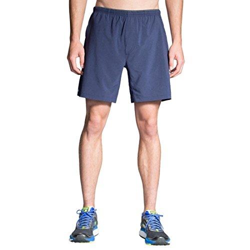 Brooks Herren Laufhose Sherpa 7'' Short Blau - 210826-451 (S) (Brooks Shorts Spandex)