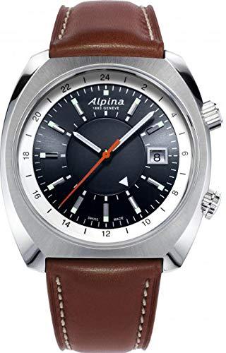 Alpina Geneve Startimer Pilot Heritage Automatic GMT AL-555DGS4H6 Herren Automatikuhr