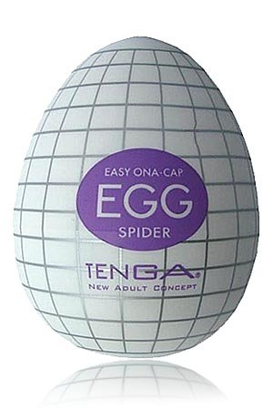 Tenga Egg Onacap - das Geschäftsreise-Ei als 3-er Set (Nr. 1 - je 1x Clicker, Wavy, Spider)