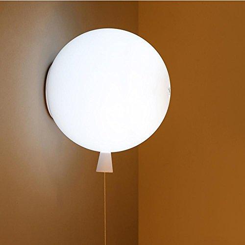 Colore palloncino plafoniera,moderno la stanza dei bambini lampada da soffitto,led plafoniera,lampada da letto,corridoio cucina luci da sala Ø20cm5 varianti di colore, illuminazioni per pareti-bianco