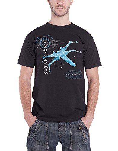 Star Wars T Shirt The Last Jedi S-X-378 -