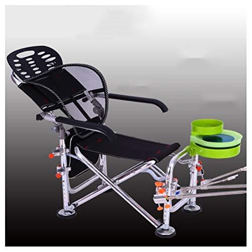 G-YL Angeln Stuhl Folding Tragbare Camping Im Freien Europäischen Reclining Mit Armlehnen Beiläufige Ultraleichte Mehrzweck Angelausrüstung Angelzubehör -/1276
