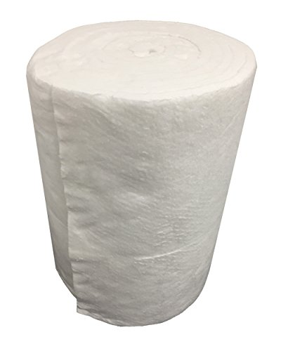 Isolierung Faser Keramik Eco, Rolle 7,30m x 61cm Dicke 25mm dichte 64kg/m3