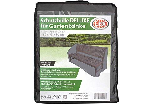 LEX Deluxe Schutzhülle für Gartenbank bis 160 cm Bank Sitzba