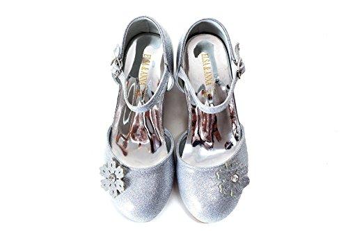 en Neueste Design Gute Qualität Schuhe Prinzessin Schnee Königin Gelee Partei Schuhe Sandalen SIL12-SH (EURO 27 - Innenlänge: 18.0cm, SIL12-SH) (Tanz Königin Kind Kostüme)