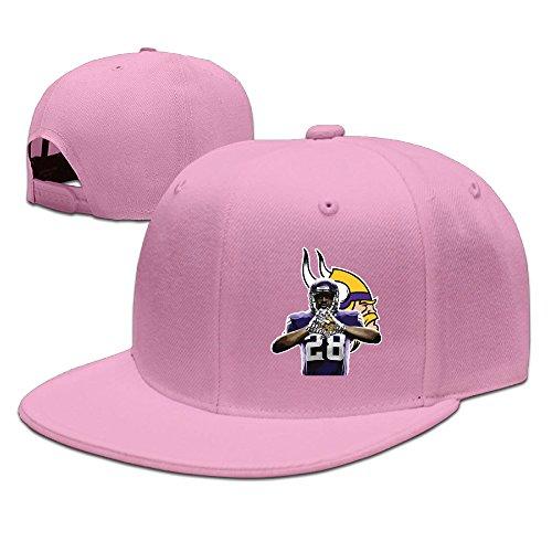 Laufen Zeit anzeigen Zurück # 28AP Baseball Hat Verstellbare Flach Bill Cap schwarz, Herren, rose (Anzeigen Baseball)