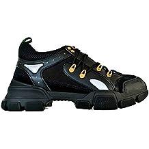 Gucci Scarpe Sneaker Oversize flashtrek GG da Uomo 543149 GGZ80 1079 Nero 35186b4a6160