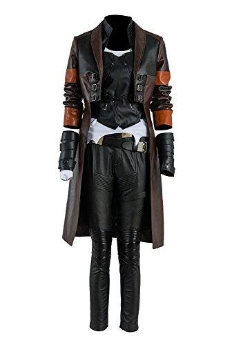 Beschützer der Galaxis 2 Gamora Uniform Cosplay Kostüm Damen ()