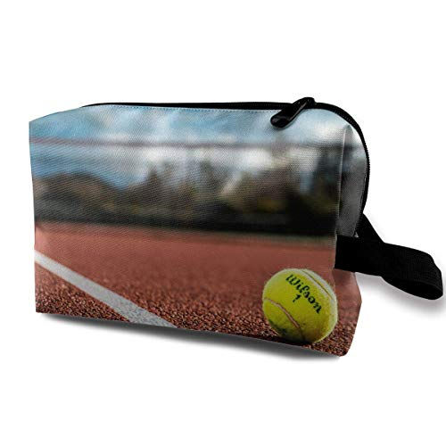 Tennis Makeup Multifunction Storage Portable Clutch Pouch Toiletries Organizer Bag Travel Cosmetic Bags Portable Hanging Travel Toiletry Bag Waterproof designer makeup bag -