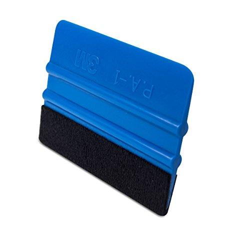 3M Rakel mit Filzkante,Folienrakel / Filzrakel aus Kunststoff als Werkzeug für Folierung von: Autofolie, Möbelfolie, Fensterfolie, Tönungsfolie, Wantatto´s,Plotter- &Klebefolie u.v.m!(1)