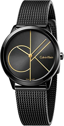 Calvin Klein Women's Analogue Quartz Watch with Stainless Steel Strap K3M224X1