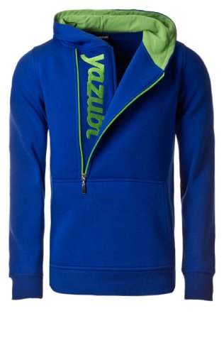 Yazubi Herren Sweatshirts Kapuzenpullover Blue/Green