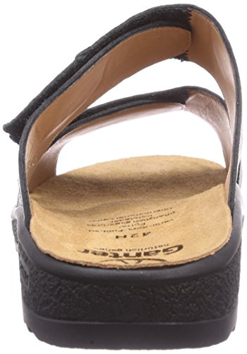 Ganter Holger, Weite H, Chaussures de Claquettes homme Noir 0100