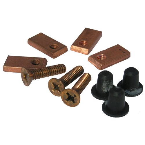 LASCO 04–3679Flush Ventil Schrauben Befestigungslaschen und Tülle Set American Standard Old Style Nr. 4