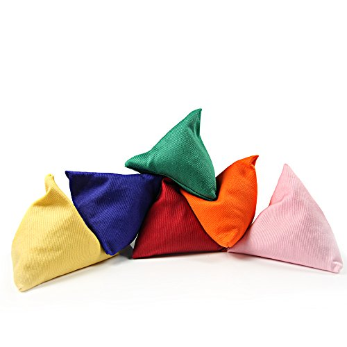 5 x Tri-it Juggling Bean Bags by Juggle Dream - Bean Bag