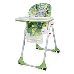 Idea Regalo - Chicco 06079565640000 Polly Easy Seggiolone, Happy Jungle