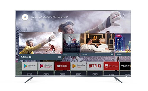 TCL 50DP661 televisore 50 pollici (Smart TV, 4K UHD, HDR Pro, Android TV, Wide Color Gamut, DTS Premium Sound) Silver Metal