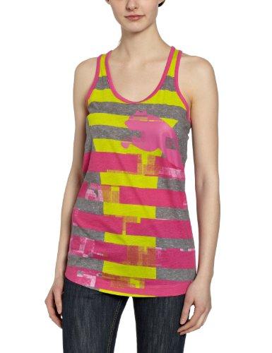 Puma Damen Tank Top Move Wow Graphic, Athletic Gray Heather, XL, 507670 02 -