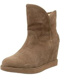 40c733f372afd Amazon.es  Botines cuña para mujer  Zapatos y complementos