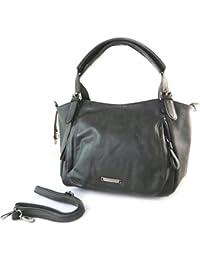cf32e0e014 Lulu Castagnette [N5741] - Sac créateur 'Lulu Castagnette' noir vintage -  43x29x11