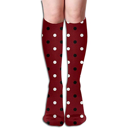 Stocking Multi Colorful Patterned Knee High Socks 19.6 Inchs ()