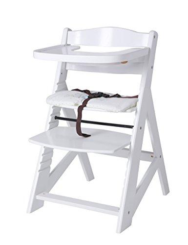 Fiximaster baby mitwachsender Hochstuhl/babystuhl mit Sicherheitsgurt und Großem Esstisch