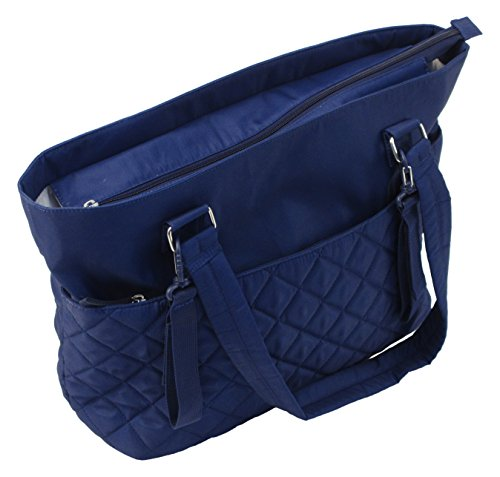 Summer Infant 78606 Wickeltasche Quilted Tote, gesteppt, blau blau
