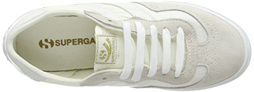 Superga Unisex-erwachsene 2832 Sneaker In Nylu Bianco (total White)