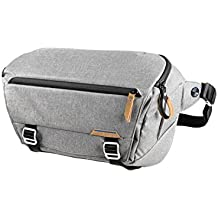 Peak Design Everyday Sling Sling Case Grey–Chambre Cases (Sling Case, Universal, Shoulder Strap, Notebook Compartment, Grey)