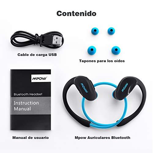 33081beacb0 ... Mpow Auriculares Bluetooth Deportivos, Cheetah Auriculares Bluetooth  4.1 Deportivos Inalámbricos con Manos Libres para Correr ...
