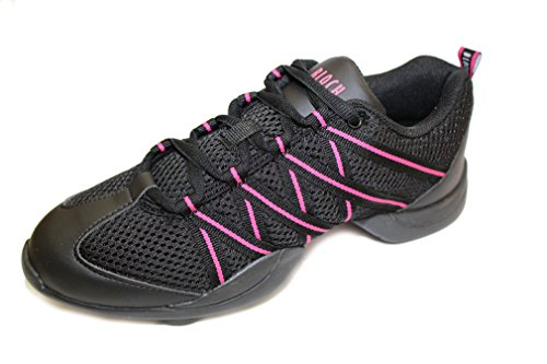 Bloch S0524 Criss Cross Sneaker Pink EU 38, UK Adult 5, US 8