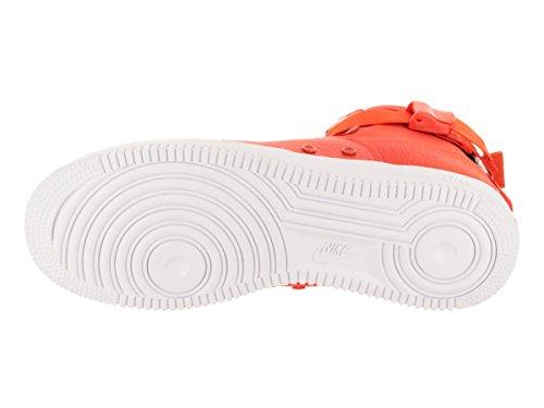 best service 3d60e 5b778 ... team Nike Herren SF Air Force 1 Mid Schwarz Leder Synthetik Sneaker  team orange, ...
