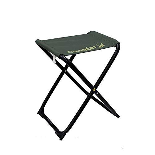 Folding Stool Klapphocker Camping-Hocker, Mini Portable Hocker für BBQ/Camping/Angeln/Reise/Wandern/Garten/Strand/Terrasse (32x34x45cm) Green