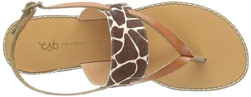 Chocolate Schubar - Echo, Sandali Donna Marrone (Marron (Giraffe))