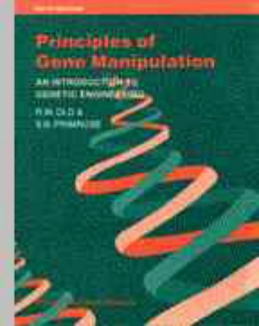 Principles of Gene Manipulation (Studies In Microbiology) (1994-09-27) par unknown