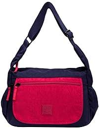 060dd06cb Art Sac Women's Single Strap Zip Top Shoulder Bag Cross-Body Bag