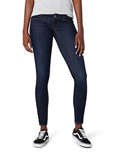 G-star Tragen (G-STAR RAW Damen 3301 Deconstructed Low Waist Skinny Jeans, Blau (dk Aged 6252-89), 29W / 32L)