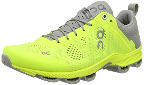 On Running Cloudsurfer Neon/Grey M 10, Scarpe Running Uomo, Giallo, 44 EU