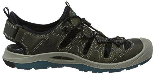 Ecco Biom Delta, Chaussures Multisport Outdoor Homme Vert (50333Tarmac/Black/Biscaya)
